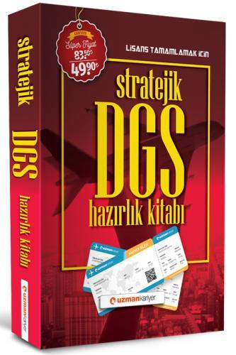Uzman Kariyer Yayınları 2020 DGS Stratejik Hazırlık Kitabı
