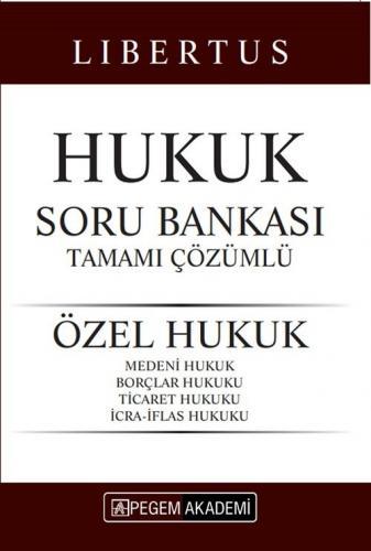 Pegem Yayınları 2020 KPSS Libertus Hukuk Özel Hukuk Soru Bankası Çözüm