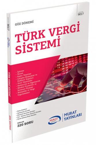 Murat 4. Sınıf 7. Yarıyıl Türk Vergi Sistemi Kod 9017