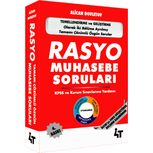 4T RASYO Tamamı Çözümlü Özgün Muhasebe Soruları - Alican Dovletov