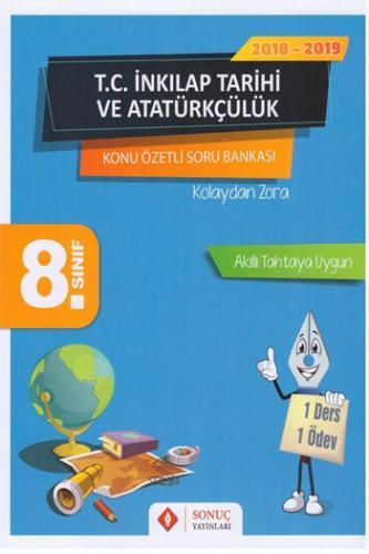Sonuç Yayınları 8. Sınıf T.C. İnkılap Tarihi ve Atatürkçülük Kazanım Merkezli Soru Kitapçığı