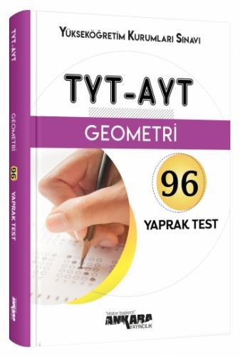 YKS TYT-AYT Geometri 96 Yaprak Test  - Ankara Yayıncılık