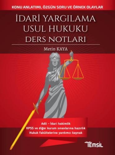 Temsil İdari Yargılama Usul Hukuku