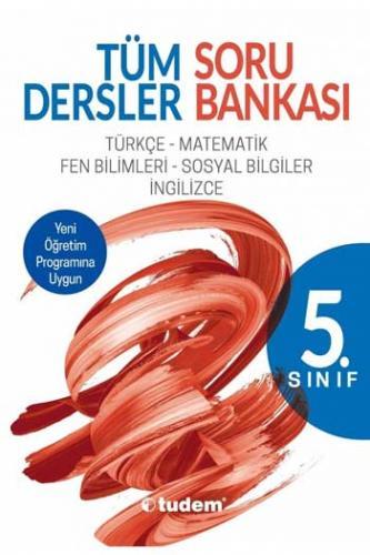 Tudem 5. Sınıf Tüm Dersler Soru Bankası