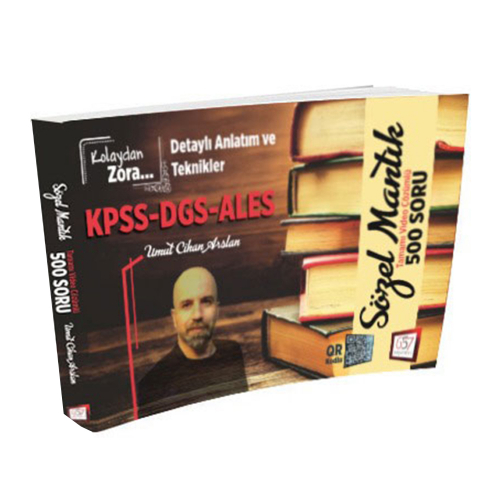KPSS DGS ALES Kolaydan Zora Sözel Mantık Tamamı Video Çözümlü 500 Soru