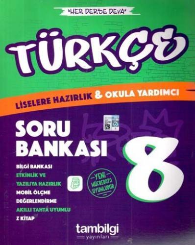 Tambilgi Yayınları 8. Sınıf Türkçe Soru Bankası