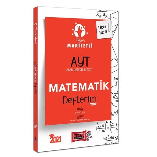 Yargı Yayınları 2021 AYT Tam Marifetli Matematik Defterim Ahmed Numan