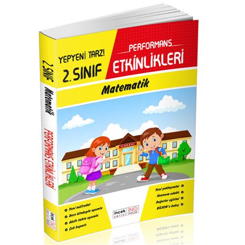 İnovasyon 2. Sınıf Matematik Türkçe Performans Etkinlikleri İncek Seri