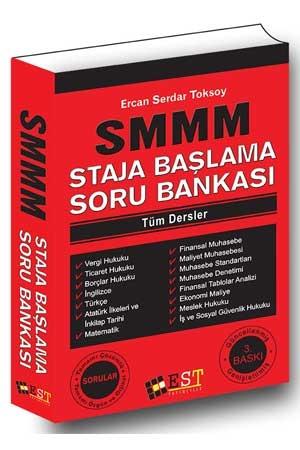 EST SMMM Staja Başlama Tamamı Çözümlü Soru Bankası %30 indirimli Ercan