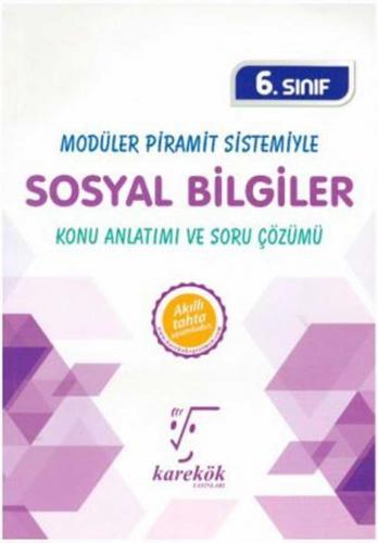 Karekök Yayınları 6. Sınıf Sosyal Bilgiler MPS Konu Anlatımı ve Soru Ç