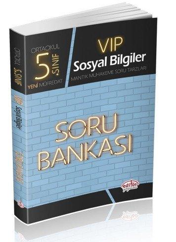 Editör 5. Sınıf VIP Sosyal Bilgiler Soru Bankası