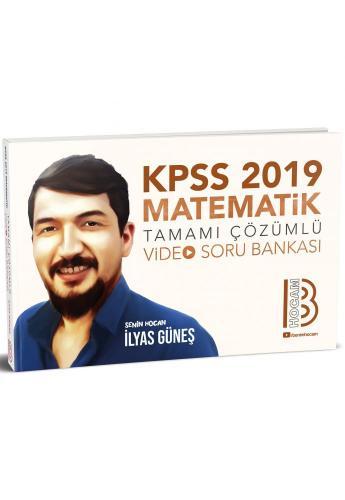 Benim Hocam KPSS Matematik Tamamı Çözümlü Video Soru Bankası 2019
