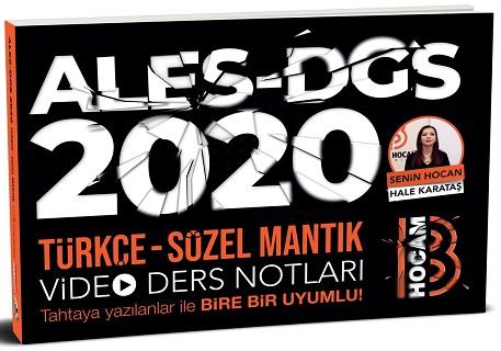 Benim Hocam Yayınları 2020 ALES DGS Türkçe Sözel Mantık Video Ders Notları
