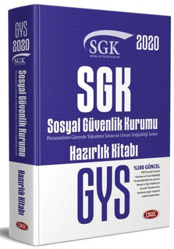 Data Yayınları 2020 GYS SGK Konu Anlatımlı Hazırlık Kitabı