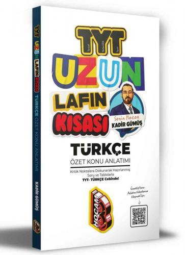 Benim Hocam Yayınları 2021 TYT Uzun Lafın Kısası Türkçe Özet Konu Anla