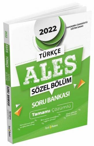 Tercih Akademi 2022 ALES Tamamı Çözümlü Sözel Soru Bankası Komisyon
