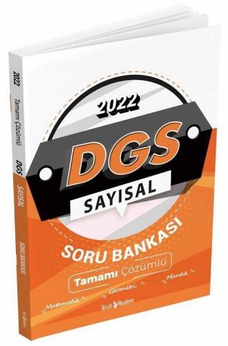 Tercih Akademi 2022 DGS Sayısal Tamamı Çözümlü Soru Bankası Komisyon