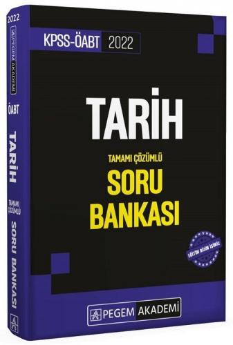 Pegem Yayınları 2022 ÖABT Tarih Tamamı Çözümlü Soru Bankası Komisyon