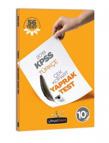 Beyaz Kalem KPSS Türkçe Çek Kopar Yaprak Test