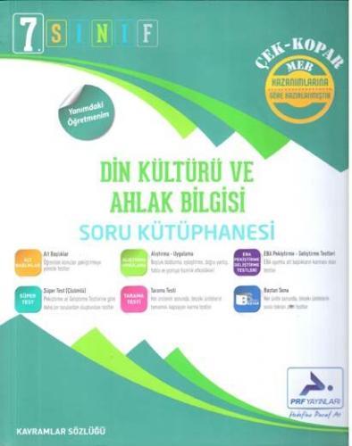 PRF 7. Sınıf Din Kültürü ve Ahlak Bilgisi Soru Kütüphanesi
