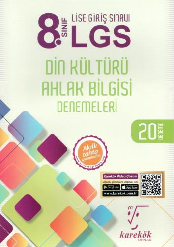 Karekök 8. Sınıf LGS Din Kültürü Ahlak Bilgisi Denemeleri 20 Deneme