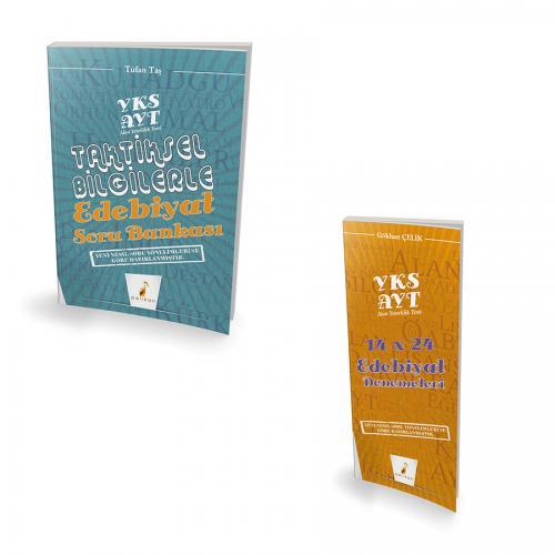 YKS AYT Edebiyat Soru Bankası + Deneme Seti