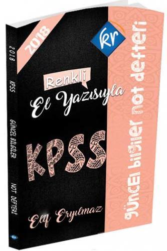Kr Akademi  KPSS Güncel Bilgiler Not Defteri
