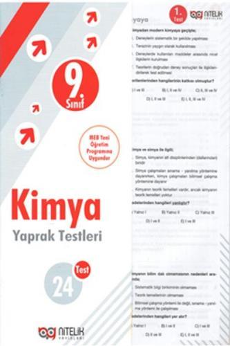 Nitelik 9. Sınıf Kimya Yaprak Testleri