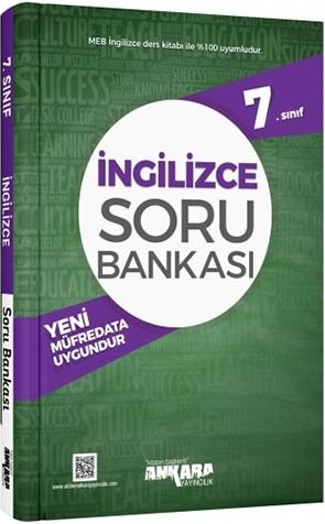 7. Sınıf İngilizce Soru Bankası - Ankara Yayıncılık
