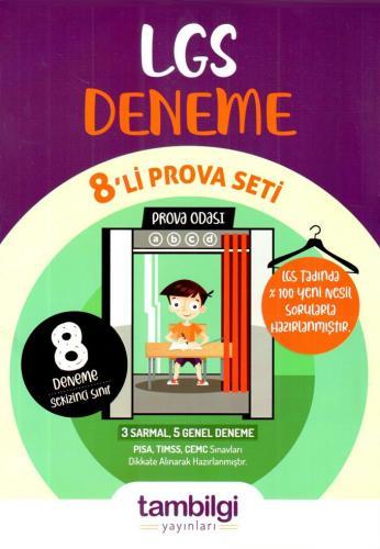 Tambilgi Yayınları 8. Sınıf LGS Deneme 8li Prova Seti