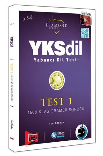 Yargı Yayınları YKSDİL Yabancı Dil Testi 1500 Klas Gramer Sorusu