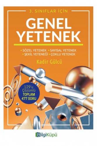 BilgiKüpü Yayınları 3. Sınıf Genel Yetenek %25 indirimli Komisyon