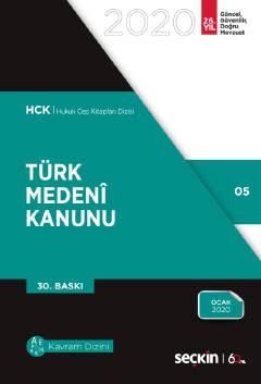 Türk Medeni Kanunu (Cep Boy - Seçkin)