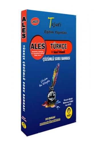 Tasarı Eğitim Yayınları ALES Türkçe Çözümlü Soru Bankası Cem Keser