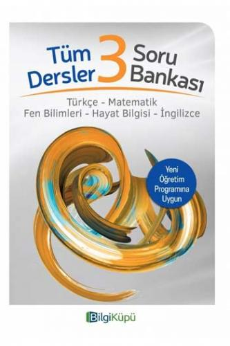 BilgiKüpü Yayınları 3. Sınıf Tüm Dersler Soru Bankası %25 indirimli Ko