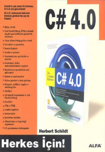 C# 4.0 %25 indirimli Herbert Schildt