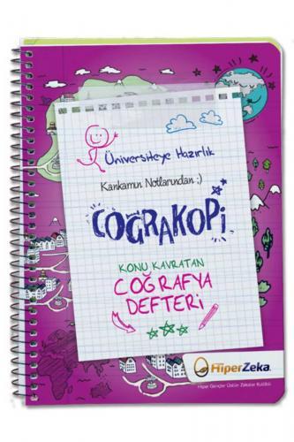 Hiper Zeka Yayınları Üniversiteye Hazırlık Konu Kavratan TYT Coğrafya