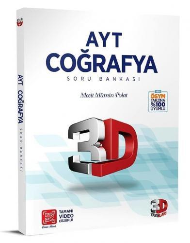 3D Yayınları AYT Coğrafya Soru Bankası %35 indirimli Komisyon
