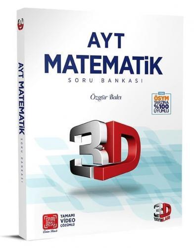 3D Yayınları AYT Matematik Soru Bankası