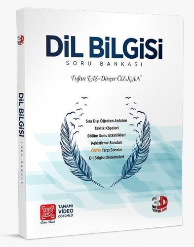 3D Yayınları Dil Bilgisi Tamamı Video Çözümlü Soru Bankası Tufan Taş