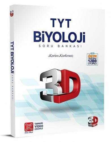 3D Yayınları TYT Biyoloji 3D Soru Bankası %34 indirimli Komisyon