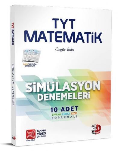 3D Yayınları TYT Matematik Simülasyon Denemeleri %30 indirimli Özgür b