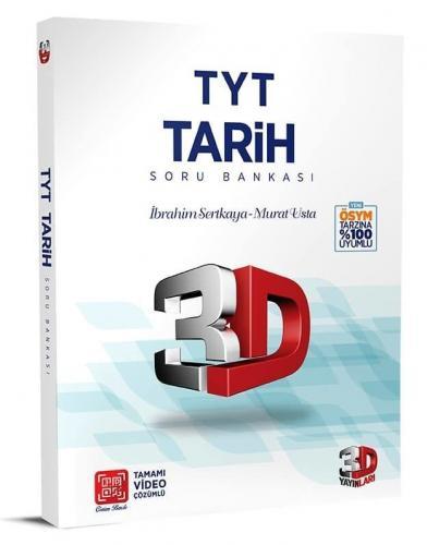 3D Yayınları TYT Tarih Soru Bankası %35 indirimli Komisyon