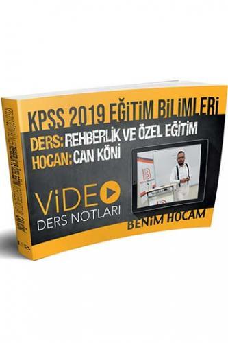 Benim Hocam KPSS Eğitim Bilimleri Rehberlik ve Özel Eğitim Video Ders