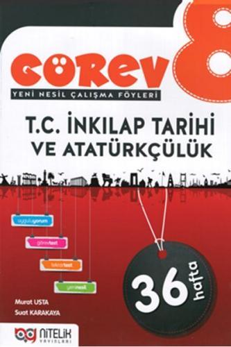 Nitelik 8. Sınıf Görev T.C. İnkılap Tarihi ve Atatürkçülük Soru Bankası