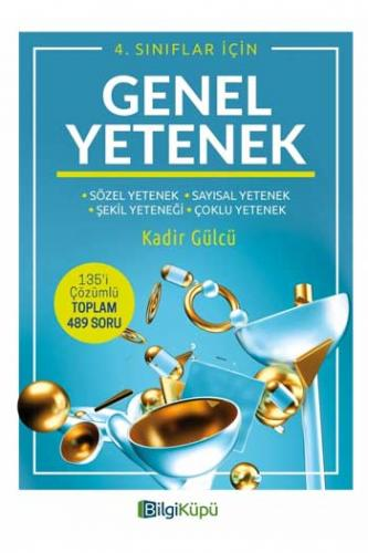 BilgiKüpü Yayınları 4. Sınıf Genel Yetenek %25 indirimli Komisyon