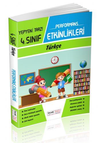 İnovasyon 4. Sınıf Türkçe Performans Etkinlikleri İncek Serisi