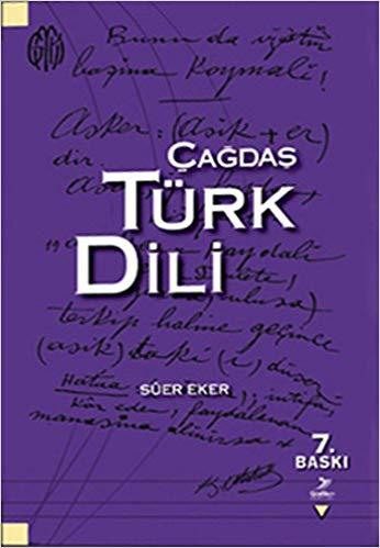 Çağdaş Türk Dili %30 indirimli Sürer Eker