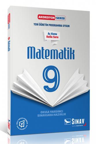 Sınav 9. Sınıf Matematik Akordiyon Kitap