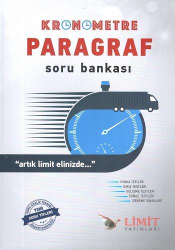 Limit Kronometre Paragraf Soru Bankası %40 indirimli Kolektif